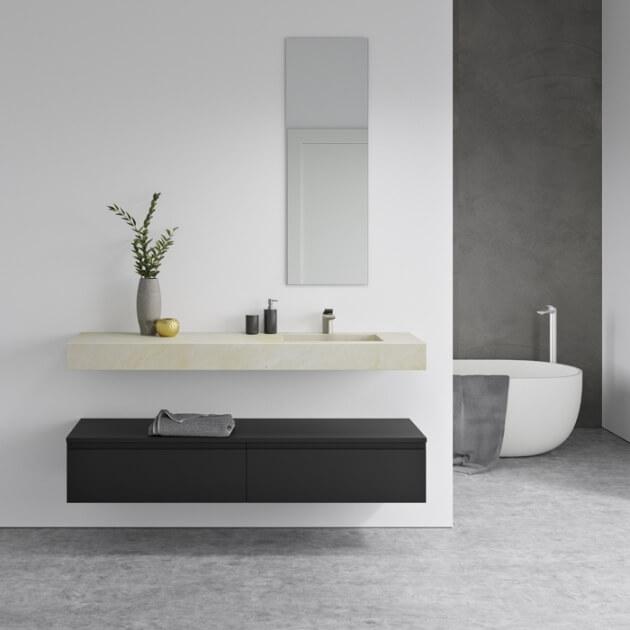 Vasque en marbre Crema Marfil